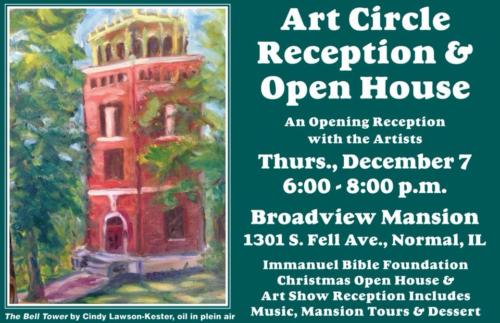 Art Show at Broadview Mansion, Dec 2017